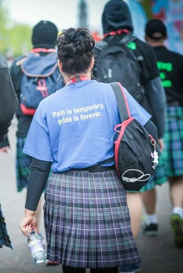 KIltwalk Pain-Pride