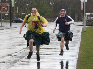 TACC Kiltwalk - Hampden to Loch Lomond
